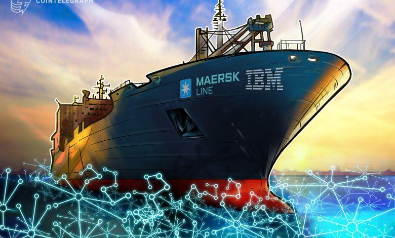 ينضم قادة الشحن العالميون إلى منصة IBM و Maersk blockchain