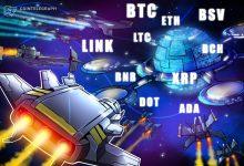 صورة تحليل الأسعار 10/30: BTC، ETH، XRP، BCH، LINK، BNB، DOT، LTC، BSV، ADA