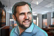 """صورة يعارض الرئيس التنفيذي لشركة Ripple ، براد جارلينهاوس ، سياسة Coinbase """"اللا سياسة"""""""