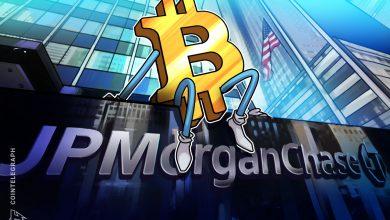 """صورة يتحول JPMorgan إلى الاتجاه الصعودي على البيتكوين مشيرًا إلى """" الارتفاع المحتمل على المدى الطويل """""""