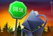 قد يتجه إيثر إلى 10.5 ألف دولار ، كما يقول المحلل الإستراتيجي في Fundstrat